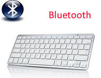 Wholesale 2 GhzBluetooth Wireless Bluetooth Keyboard for Android Device Samsung phone Galaxy Tablet PC Laptop PC