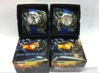 Wholesale HOT Children s cartoon Transformers boxed gift boxed watch a favorite cartoon boy child watches bag