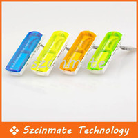 Wholesale Small Spacecraft Card Reader for Micro SD TF M2 Camera MS SD Memory Stick MINI SD Card Reader