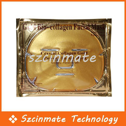 Wholesale Gold Bio Collagen Facial Mask Face Mask Crystal Gold Powder Collagen Moisturizing Anti Aging