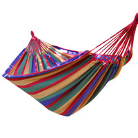 Cotten Outdoor Furniture we best 2014 News High Quality Travel Camping Hammock Swing Outdoor Thickening Canvas Hammock Free Shipping For World ZYD024
