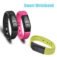 Slap & Snap Bracelets Unisex Fashion 1pcs Vidonn X5 Bluetooth 4.0 IP67 Smart Wristband Sports Sleep Tracking Health Fitness for iPhone 5S 5C for Samsung S4