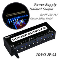 Wholesale Joyo JP Power Supply Guitar Pedal Device with Isolated Outputs amp Power Options amp Cables Top Quality