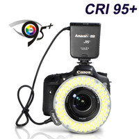 Yes OEM Yes HC100 Aputure Amaran Halo HC100 CRI 95+ LED Ring Flash Light for Canon EOS 7D 6D 50D 5D Mark III 5D Mark II 700D 70D 650 20D