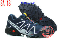 Wholesale Training Running Shoes Salomon Store SpeedCross CS Zapatillas Outdoor Sports Shoes styles mix orders Hiking Shoes Worldwide