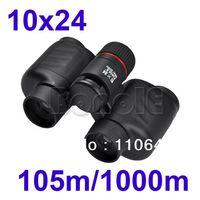 Wholesale Black x24mm Zoom Outdoor Tourism Sports Jumelles Binoculars Telescope m m