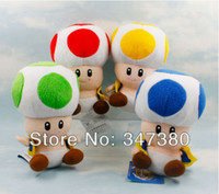 Wholesale MN High Quality colors Mario Mushrooms Super Mario Plush Toys plush dolls Christmas Gifts for children set Retail