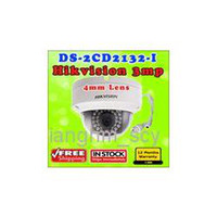 600TVL Hikvision DS-2CD2132-I Dome IP Camera DS-2CD2132-I 3MP high resolution 1080p real time video Vandal-proof Waterproof Network Camera IR POE Camera
