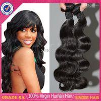 Peruvian Hair Body Wave 8-30inches Hot Sale!!! 5A Brazilian Peruvian Malaysian Indian Virgin Human Hair Body Wave Natural Black Unprocessed Hair Extensions Cheap Hair Bundles