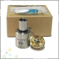 Wholesale 1 Clone Plume Veil Atomizer Ecig Plumeveil Atomizer Plume Veil RDA for Mechanical Mod with thread DHL Free