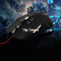 Wholesale Hot Sale Computer Gaming Mouse DPI Wired Blue LED Gaming Game Mice Mouse Optical Buttons for Laptop PC b7 SV004508