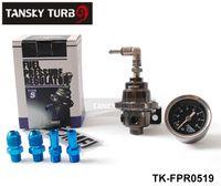 Wholesale Tansky TOMEI Fuel Pressure Regulator Fuel Regulator With Black Gauge TK FPR0519