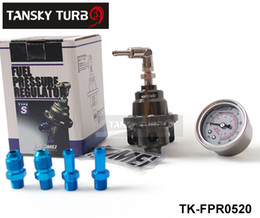 Wholesale Tansky TOMEI Fuel Pressure Regulator Fuel Regulator With white Gauge TK FPR0520 Have in stock H Q