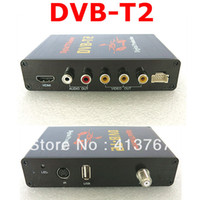 TV-Tuners OEM  GPS DVB-T2 Digital TV Receiver MPEG-4 DVB-T Car TV Tuners Support HDMI Output and USB Host