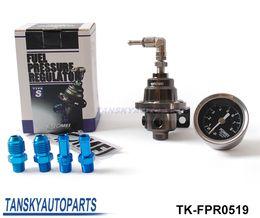 TOMEI Новый JDM высокая производительность Алюминий Регулируемая Регулятор давления топлива / топливного регулятора тип S с черными Gauge TK-FPR0519