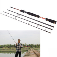 Wholesale 2 M FT Carbon Fiber Portable Sea River Fly Fishing Pole Spinning Lure Rod Fishing Tackle Tool for Outdoor Sports H11354