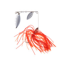 crappie jigs - 3pcs Fishing Lure Spinner bait Fresh Water Shallow Water Bass Walleye Crappie Minnow Fishing Tackle with Jig Hook g H11104C