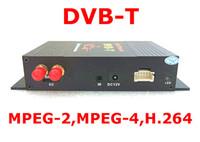 TV-Tuners OEM M-488X GPS Car TV Tuner Mobile DVB-T MPEG-4 Digital TV Receiver Box With Dual antennas