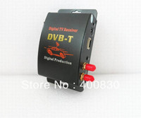 TV-Tuners OEM M-629S GPS Car DVB-T MPEG-4 Digital TV Dual Tuner TV Receiver Mini TV Box Mobile TV with amplified antennas