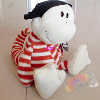 Teddy Bear Multicolor Plush Discount Hot Sale Nici Pirate plush toy Gecko children birthday gift 1pcfree shipping