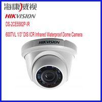 "DIS Outdoor 600TVL HIKVISION DS-2CE5582P-IR Resolution 600TVL 1 3"" DIS ICR Outdoor IR Dome Camera security cctv cameras support IP66"