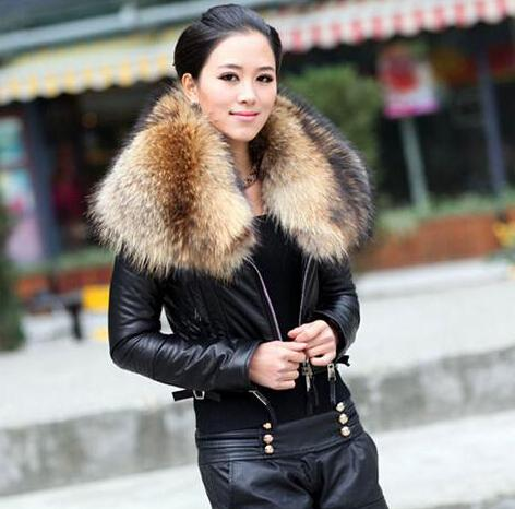 Womens Leather And Fur Jackets