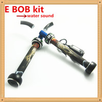 Wholesale NEW E BOB Electronic cigarette kit E HOOKAH water sound battery atomizer cigarettes with water sound best products fast shipping