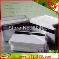Wholesale 200PCS PVC Blank OE Hi Co Magnetic Stripe Card Magstripe Card Magcard Printable By Plastic Card Printer