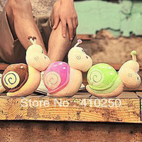 fashion wholesalers - MN Wholesaler Fashion CM small Snail Plush toy doll with sucker car decorative accessories wedding toy doll