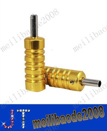 Wholesale Aluminum Alloy quot Tattoo Grip with Back Stem for Tattoo Machine Gun MYY2102