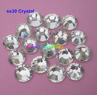 Wholesale ss30 mm Crystal Clear Flat Back Nail Art Non Hotfix Rhinestones