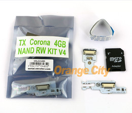 Wholesale TX CORONA GB NAND RW KIT GB SD pour Xbox QSB V4 OEM CHINE