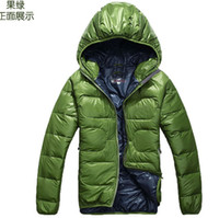 Hooded men winter down coat jacket - New Winter Men Clothing Outdoor casual sport coats amp jackets man male thick warm down jackets coats