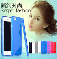 Wholesale Soft Anti Skid S Line TPU Gel Rubber Silicone Skin Cover Case Mobile Phone Back Transparent Cases For iPhone G Air quot MOQ