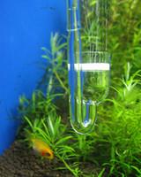 Glass CO2 Diffuser for Plant Fish Tank Aquarium Free Shippin...