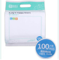 Wholesale disposable nappy liner biodegradable diaper liner cotton nappy linier diaper liner packs each each pack