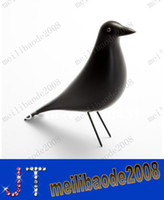 Wholesale Vitra Eames House Bird Solid Bird Furnishing Articles Pure Handmade Home Decoration Designer Furniture MYY9615