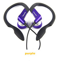 Wholesale YXH Free DHL With retail package Water Resistant RP HS33 Sports earhook stereo earphone Headset Headphone for iPods ipad mobile phone MP3