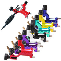 1 Piece assorted material - Dragonfly Rotary Tattoo Machine Shader Liner Rotary Gun Colors Assorted Tatoo Motor Gun Grips Kits Cheap Price