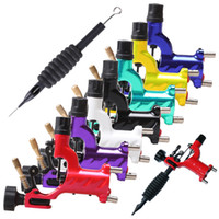 Wholesale Dragonfly Rotary Tattoo Machine Shader amp Liner Rotary Gun Colors Assorted Tatoo Motor Gun Grips Kits Cheap Price DHL
