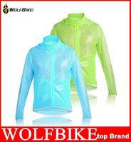 Wholesale WOLFBIKE Tour de France Ultra thin Waterproof Windproof Men Cycling Bike Bicycle Riding Clothing Rain Coat Jacket Jersey hight quality