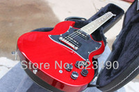 Red Solid Not Specified Best Price New Arrive Pete Townsend SG Shop Custom Electric Guitar Freeshipping with Hardcase