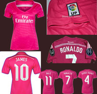 pink jersey - New season Top quality James real jersey Ronaldo pink women thai quality jersey