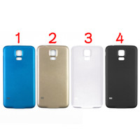 Wholesale for Samsung Galaxy S5 I9600 Back Cover Battery Door Cover High Quality Black White Gold