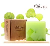 Wholesale skin lightening soap aloe vera soap pore clear pack professional skin care formula freeshipping