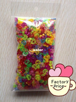 Fashion Bracelets Round Free shipping 500 pcs pack colorful S-CLIPS or C CLIPS For DIY loom bands Bracelet Refill Loom kit
