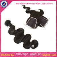 100% Unprocessed Human Hair Hair Bundles with Lace Closure 1 pc closure with 3pcs hair weave Clearance Sale!!! Buy 3 Hair Bundles Get Free Closure Unprocessed Grade 5A Best Peruvian Virgin Hair Body Wave Can Be Dyed Bleached Restyled