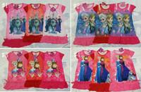 2014 Hot Sale summer girls dresses Frozen Princess patterns ...
