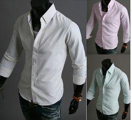 Wholesale New Design autumn winter fashion Striped collar long sleeve design Striped Men s casual shirts