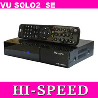 Receivers DVB-S VU Mini vu solo 2 se twin tuner decoder dvb-s2 tuner STB vu solo2 se hd Digital satellite tv receiver DHL free shipping